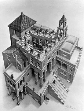 Escher's stair