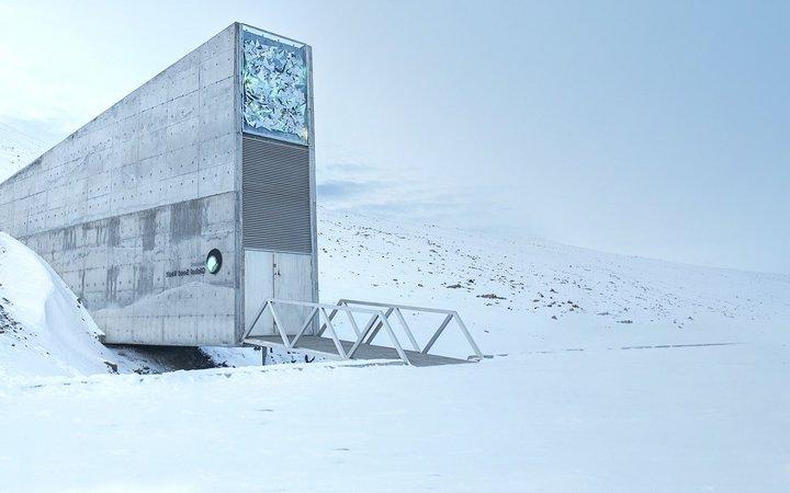 世界の終末に備えて「作物の種子」を冷凍保存するノルウェーの巨大貯蔵庫
