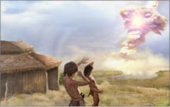「空から炎が…」人類最古の居住地が彗星の落下によって壊滅していた可能性の画像 1/3