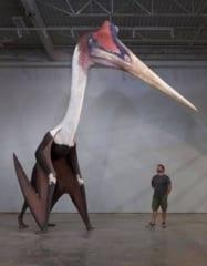 史上最大の翼竜ケツァルコアトルスの復元像がコワすぎるの画像 1/2