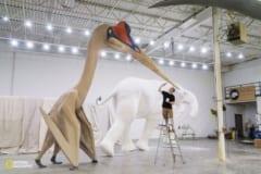 史上最大の翼竜ケツァルコアトルスの復元像がコワすぎるの画像 2/2