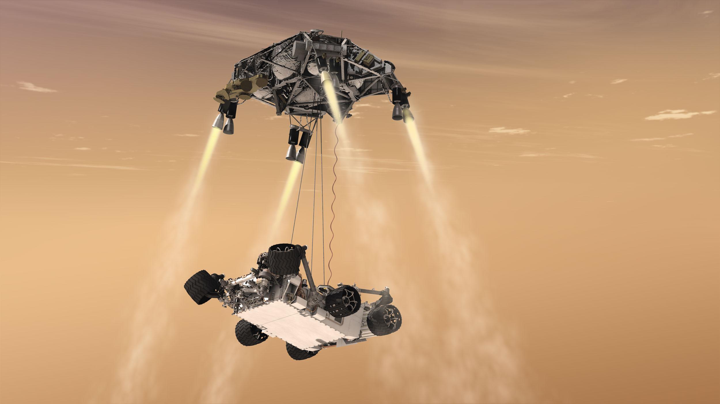 探査 nasa 機 火星