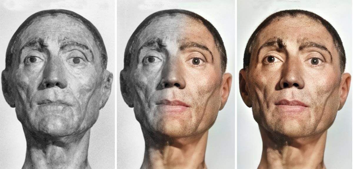 15世紀のイングランド王「ヘンリー7世」の顔をデスマスクから復元した結果の画像 1/6