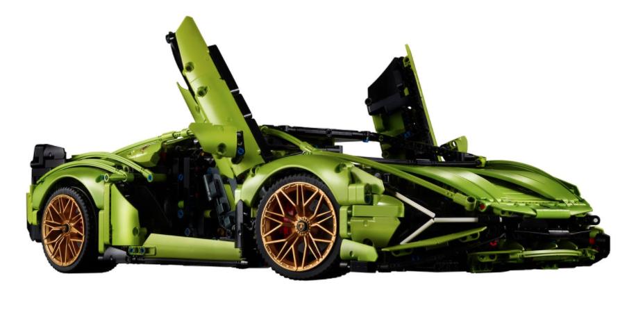 部品数3,696個!? レゴにコックピットまで再現した「ランボルギーニ・シアン FKP37」が登場
