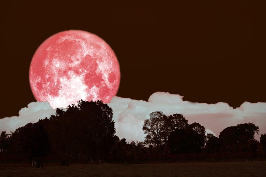 今夜は「ストロベリームーン」と半影月食が見られる特別な日!(6月6日早朝) ほんとうに月が赤くなるのか簡単解説