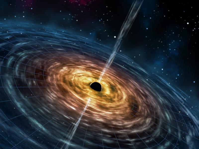 ブラックホールからエネルギーを取り出せることが証明される!