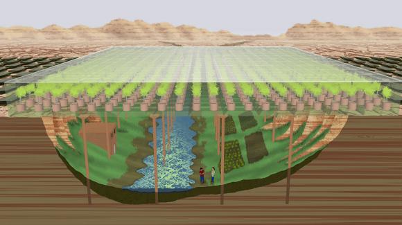 """月や火星で""""宇宙農業""""をする計画。 藻類から作ったプラスチックで温室を建設する"""