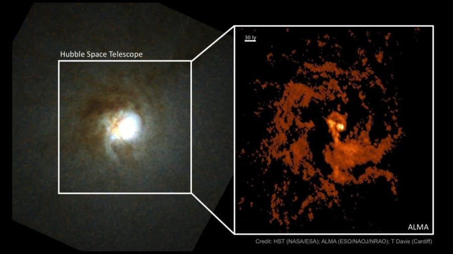 超大質量ブラックホールの誕生を解明する手がかりが見つかる