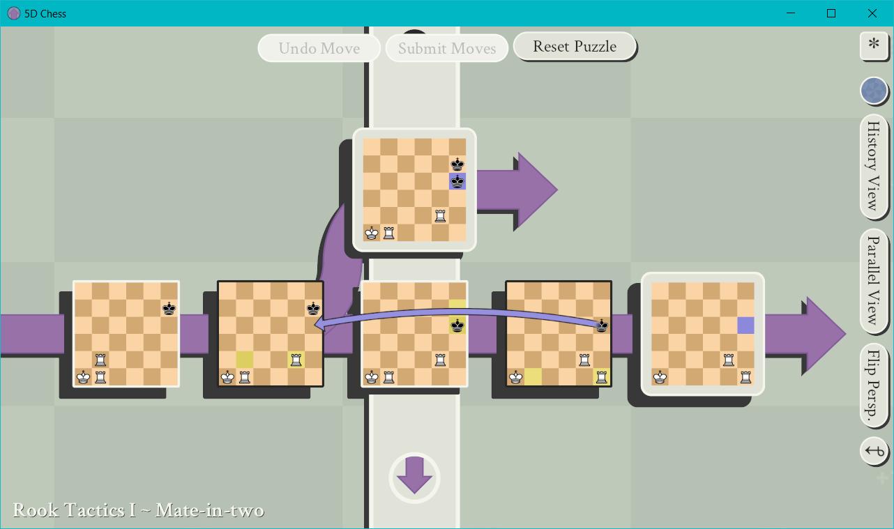 空間・時間・平行世界を駆使する「5次元チェス」がリリース。 過去に刺客を送って世界線を変えるの画像 2/8
