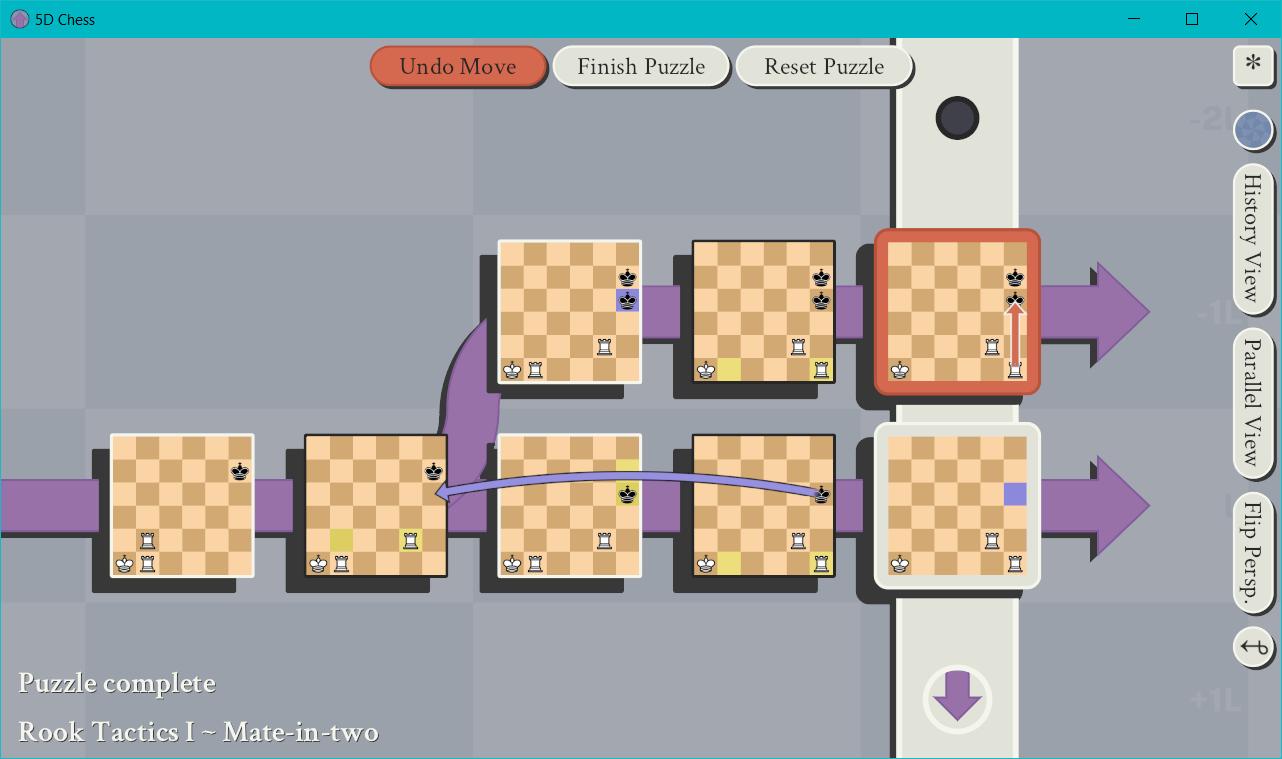 空間・時間・平行世界を駆使する「5次元チェス」がリリース。 過去に刺客を送って世界線を変えるの画像 3/8