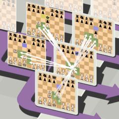 空間・時間・平行世界を駆使する「5次元チェス」がリリース。 過去に刺客を送って世界線を変えるの画像 7/8