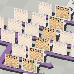 空間・時間・平行世界を駆使する「5次元チェス」がリリース。 過去に刺客を送って世界線を変えるの画像 5/8