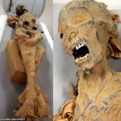 3000年前の「叫ぶ女のミイラ」の死因が判明! CTスキャンにより死の直前の様子が明らかにの画像 3/4