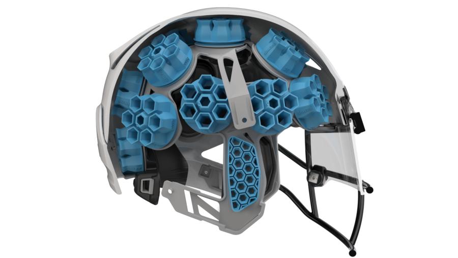 「サイバーパンク」な次世代アメフト用ヘルメットが登場! 流動学を衝撃吸収材に応用