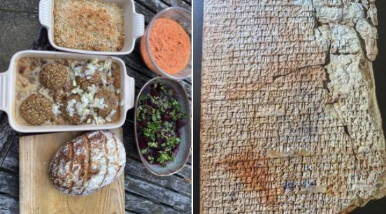 約3800年前の「世界最古のレシピ」に書かれたバビロニア料理を再現! 意外と美味しそう。