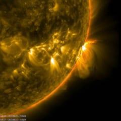 1時間で「10年間の太陽の動きを見られるタイムラプス」が公開される(NASA)の画像 2/4