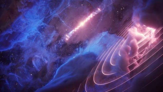 100光年離れたブラックホールと同期して脈動する奇妙なガス雲