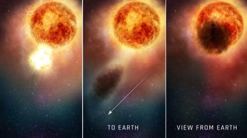 何度目だよ…。ベテルギウス減光の原因は星を覆う「塵の雲」だとする研究結果