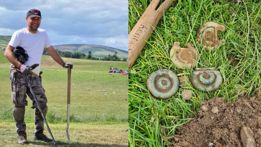 トレジャーハンターが3000年前のお宝を発掘!学者も驚く「国宝レベルの遺物」(英)