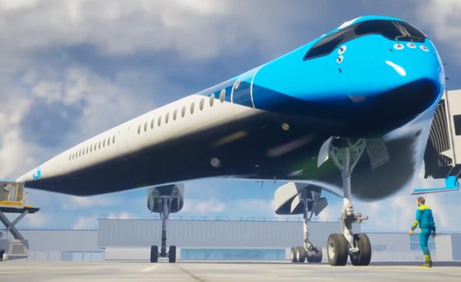 翼に旅客を乗せる「V字型飛行機」のスケールモデル飛行テストが成功!の画像 3/4