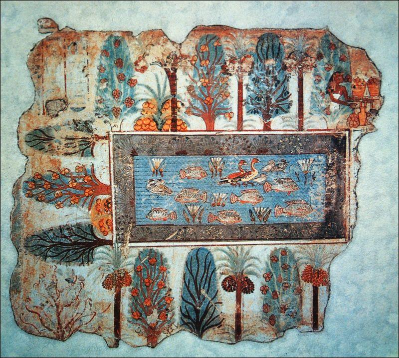 「ネブアメンの墓」から見つかったティラピア養殖の画