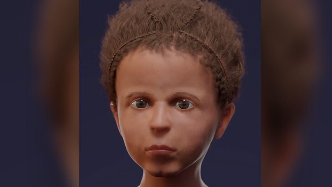顔、復元像
