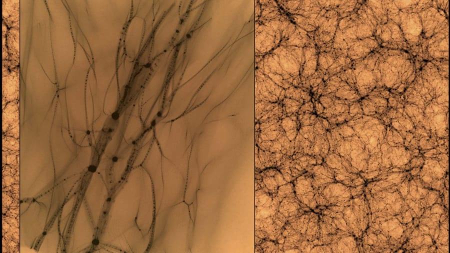 もし「ダークマター」が見えたとしたら?最新のシミュレーションが未発見の暗黒物質を見つける鍵になるかも?