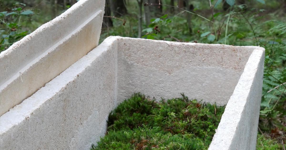 """菌類から作られる「生きた棺」が誕生!有害物質を使わずに、""""遺体をすばやく自然に帰す""""の画像 3/5"""