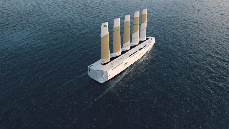 最新の輸送船は「帆船」!? 現代に蘇った風力利用の新しい船舶デザインの画像 1/5