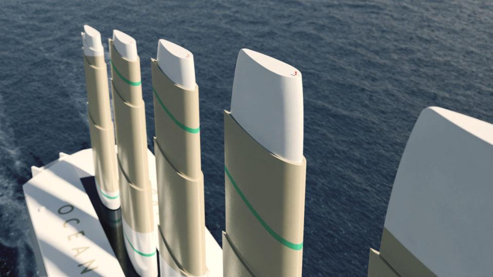 最新の輸送船は「帆船」!? 現代に蘇った風力利用の新しい船舶デザインの画像 3/5