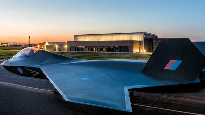 英国国防省が発表した次世代戦闘機テンペスト