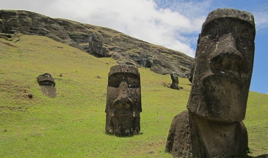 モアイ像はイースター島の「水の守り神」だったかもしれない