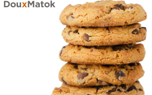 低糖砂糖で作ったチョコチップクッキー