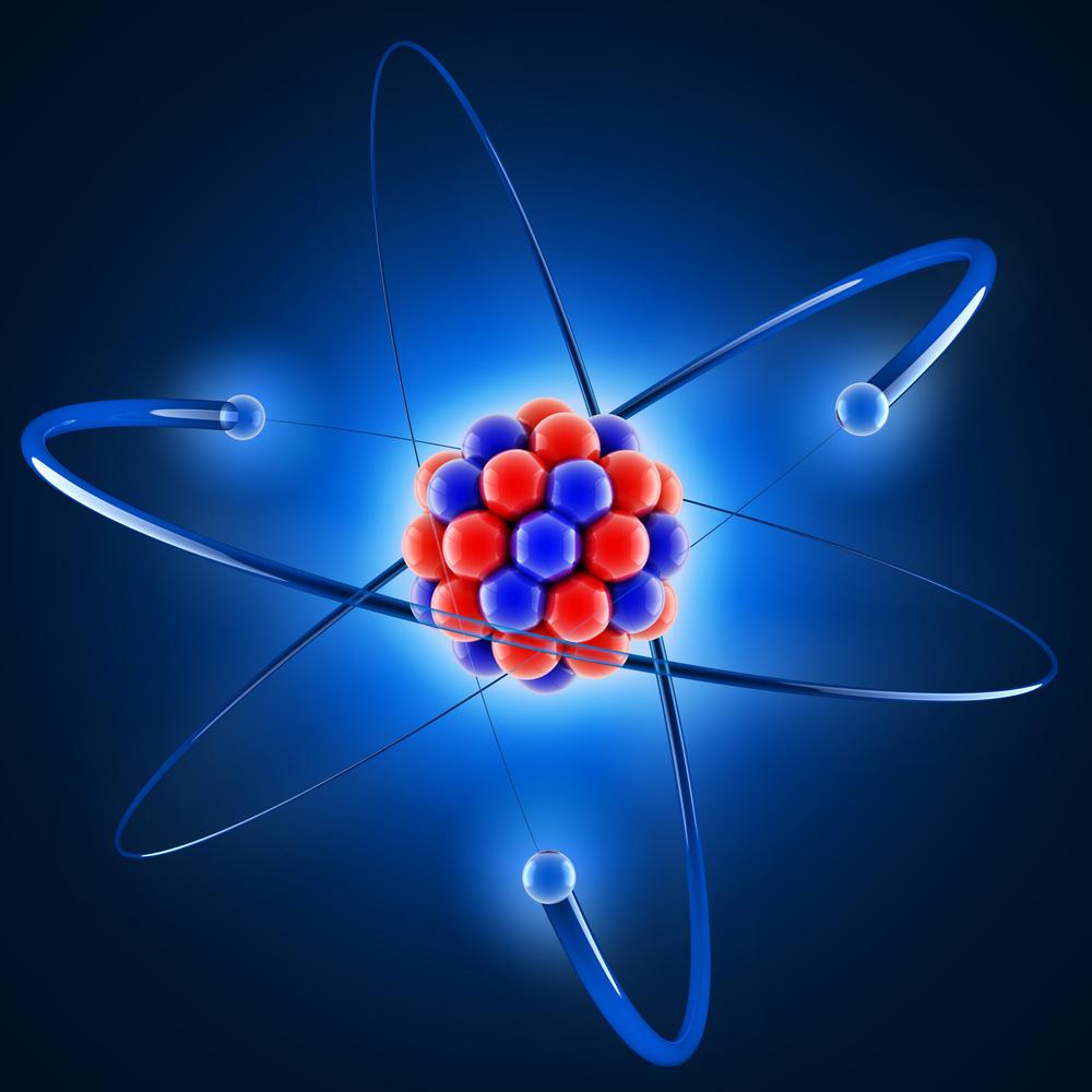 原子モデル。