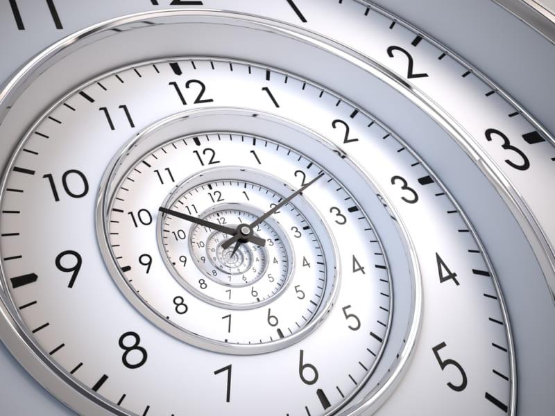 時間の螺旋。