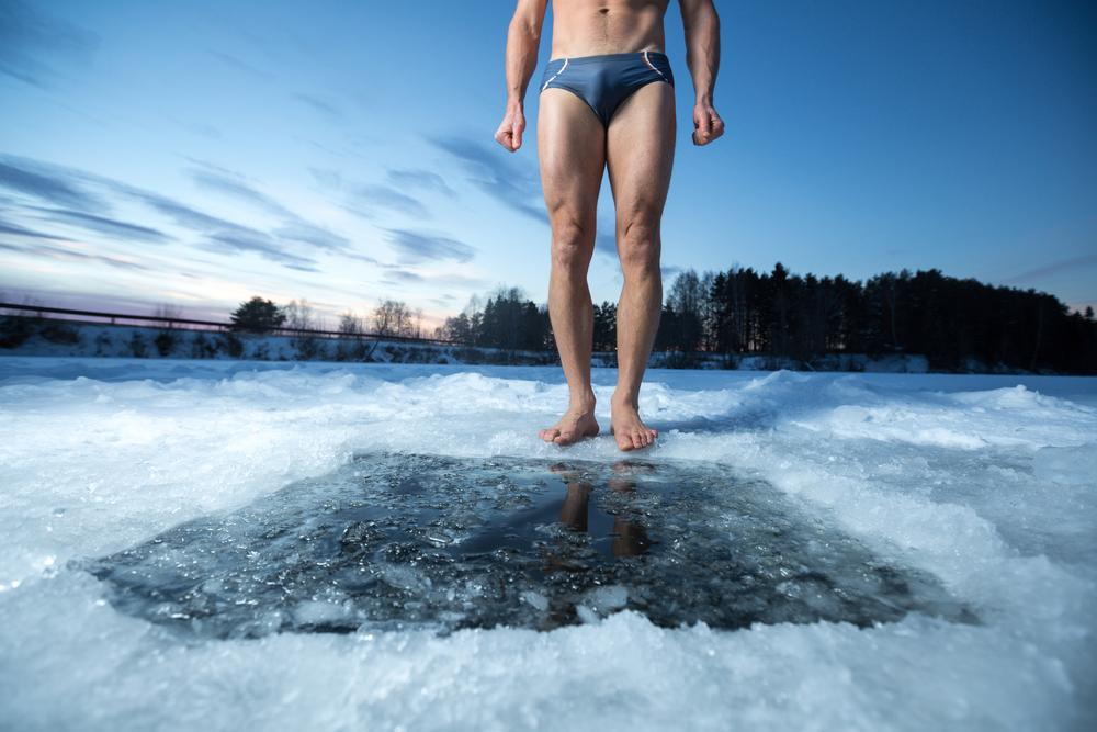 寒中水泳が認知症の予防に?