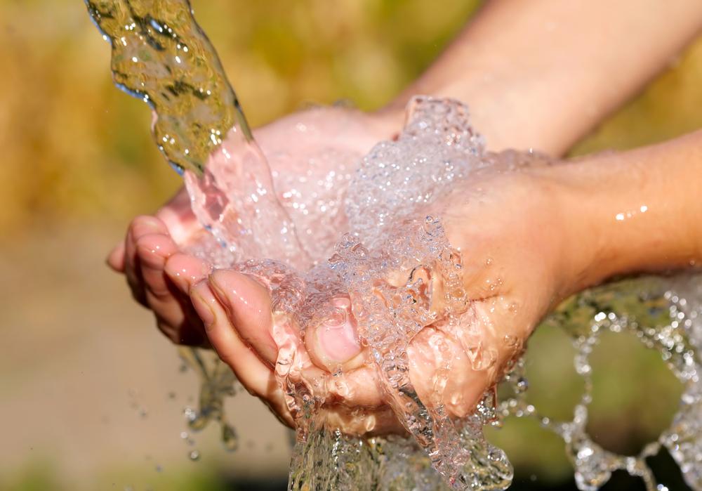 きれいな水のイメージ。発見された水源とは関係はない。