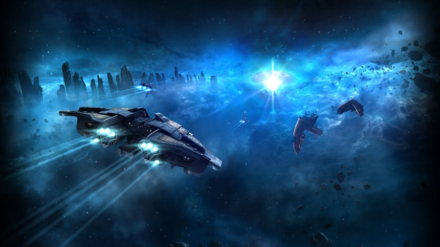 「EVE Online」のプロモーション画像。