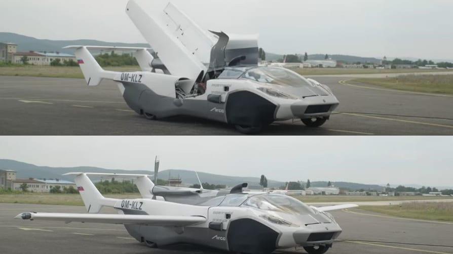 """飛行機に3分でトランスフォームするクルマ「AirCar」が、実際に空を飛ぶ日が来た! """"6ヶ月以内の発売を目標に"""""""