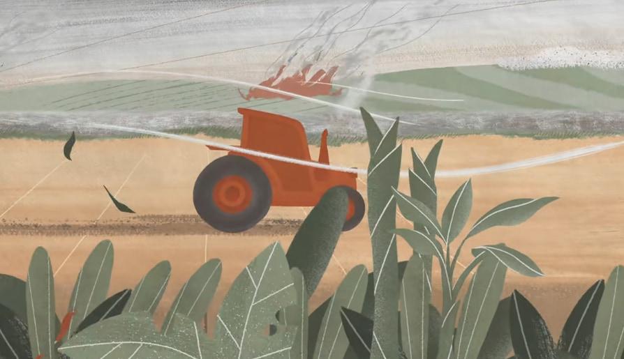 従来の農業は環境を犠牲にして食物を得る方法だった