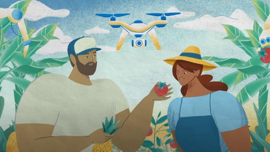 最先端技術を用いた未来の「完璧な農場」