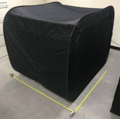 隔離用のテント