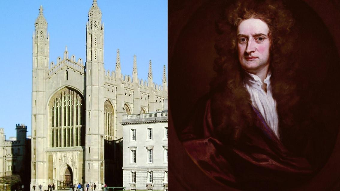 ケンブリッジ大学とニュートン