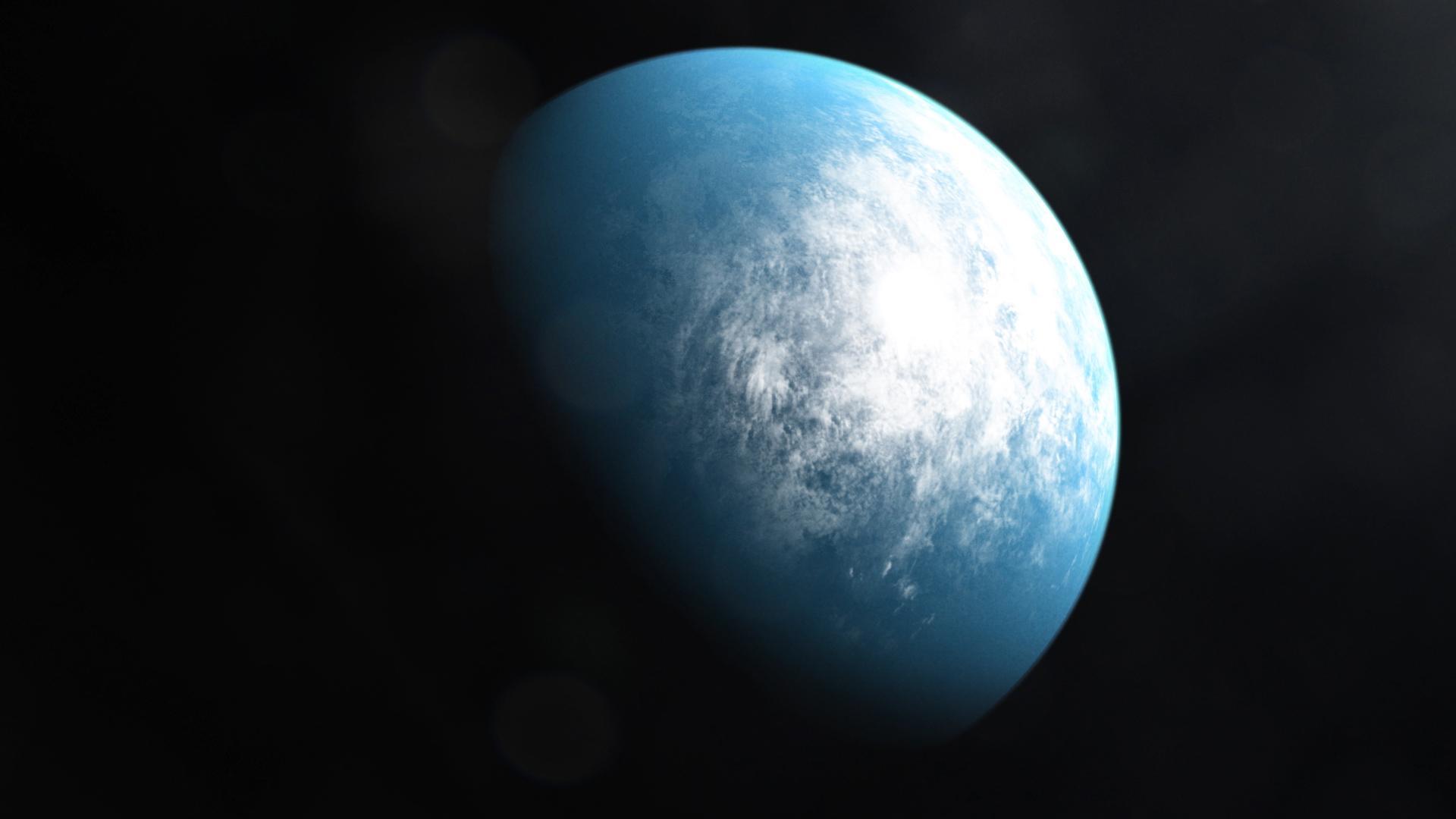 系外惑星TOI700d。系外惑星の中に生命も存在するかもしれない。