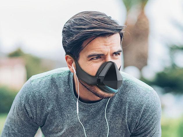 「Electric Respirator LED Fan Mask」をつけても日常生活や運動中でも快適に過ごせる