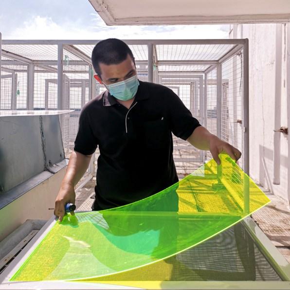 新しいソーラーパネルは紫外線と可視光を変換できる