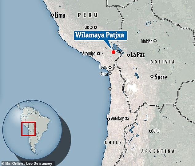 墓地が発見されたペルーの遺跡「Wilamaya Patjxa」