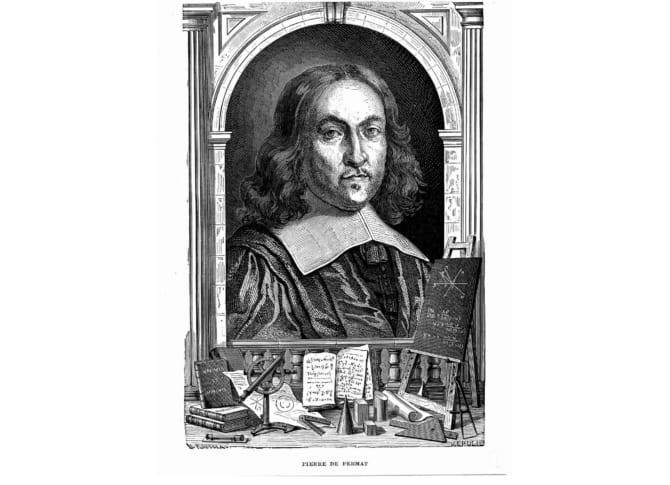 ピエール・ド・フェルマーの肖像。