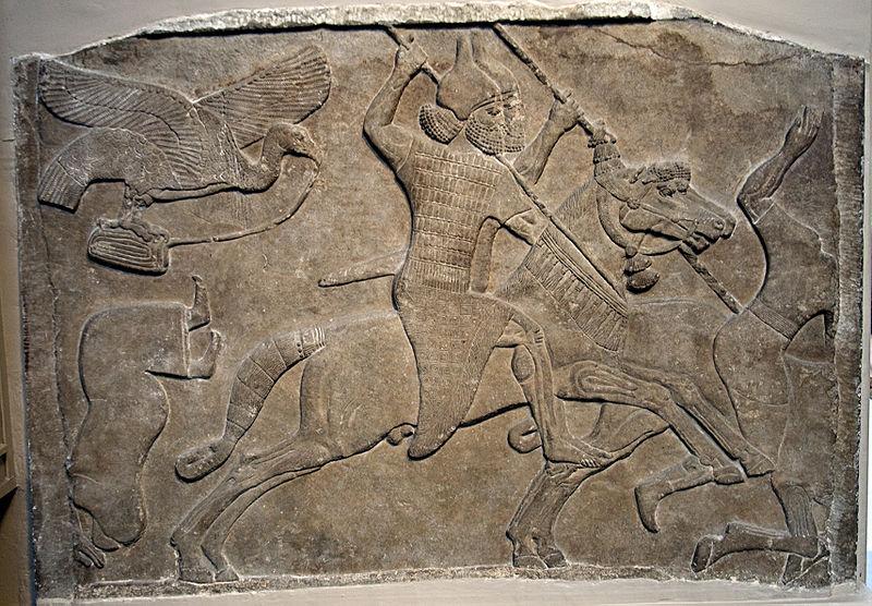 アッシリアの石版