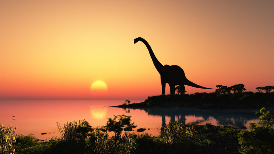 恐竜の多くが「首が長くて巨大」な原因は地球温暖化にあった